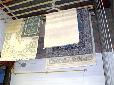 Carpet Drying Area